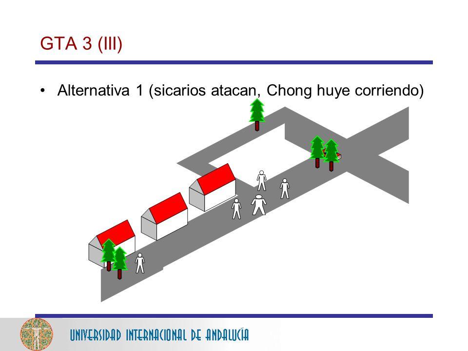 GTA 3 (III) Alternativa 1 (sicarios atacan, Chong huye corriendo)