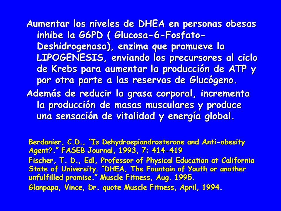 Aumentar los niveles de DHEA ha demostrado un 48% en la reducción de enfermedades cardiovasculares, ya que aumenta la producción de L.H.D.