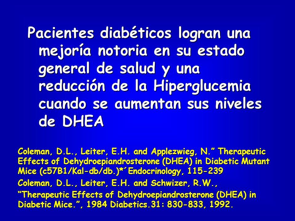 Pacientes con esclerosis múltiple aumentaron sus niveles de energía, resistencia, capacidad muscular, fuerza y agilidad con un incremento de la DHEA circulante.
