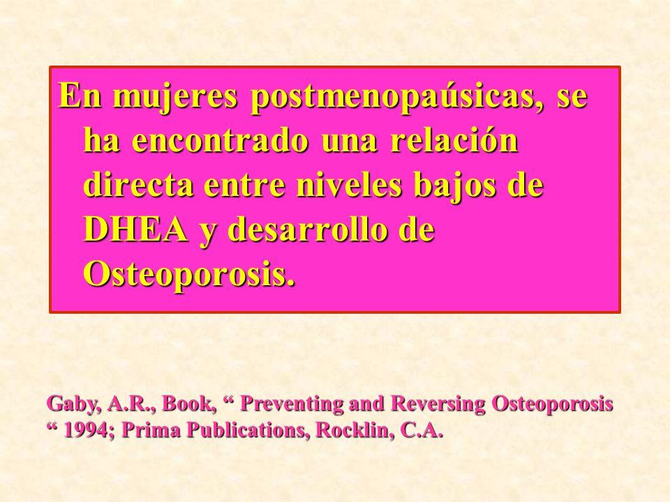 FORMAS DE ADMINISTRACION DE DHEA Se tiene evidencia de que administrar DHEA por cualquier vía puede inducir a un bloqueo de la producción de DHEA endógena.