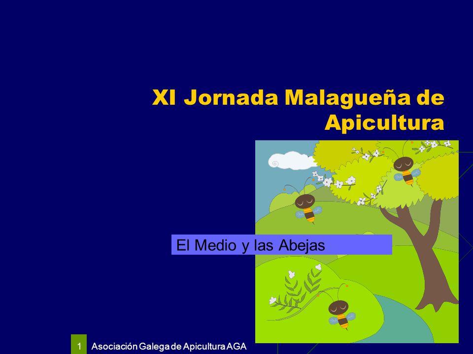 Asociación Galega de Apicultura AGA 1 XI Jornada Malagueña de Apicultura El Medio y las Abejas