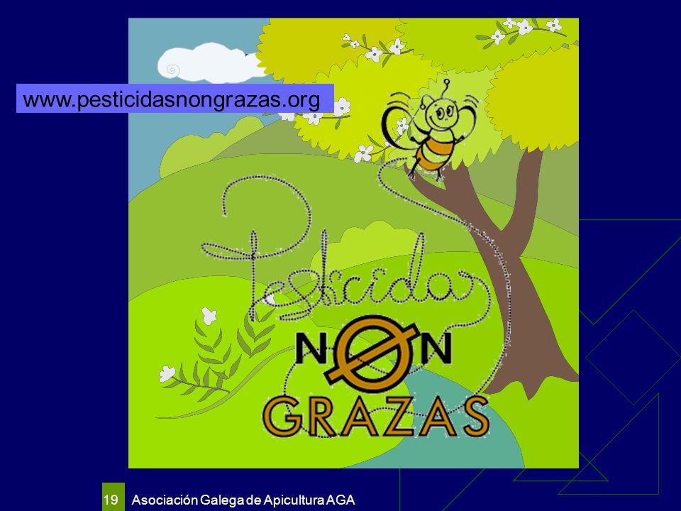 Asociación Galega de Apicultura AGA 19 www.pesticidasnongrazas.org