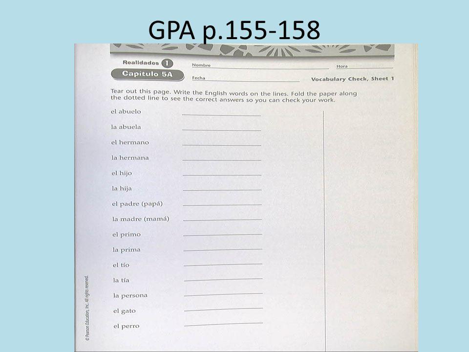 GPA p.155-158
