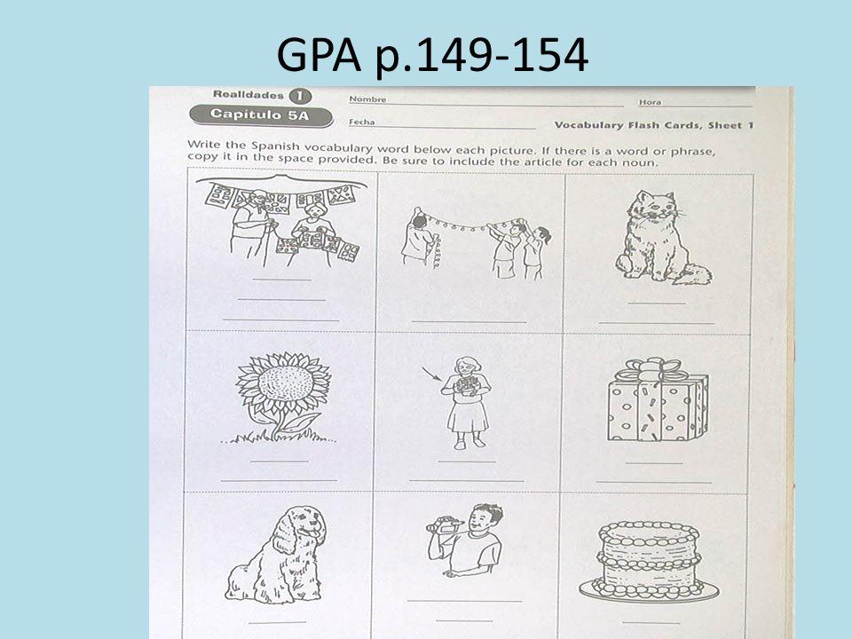 GPA p.149-154