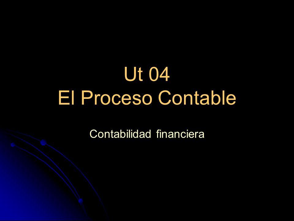 Ut 04 El Proceso Contable Contabilidad financiera