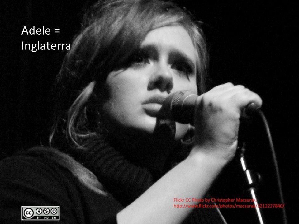 Adele = Inglaterra