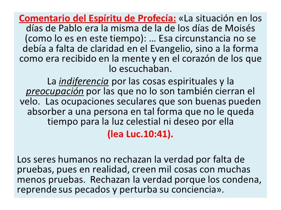 El profeta Isaías por inspiración Divina hace el siguiente llamado a la iglesia: «Despierta, despierta, vístete de poder, oh Sion; vístete tu ropa hermosa, oh Jerusalén, ciudad santa; porque nunca más vendrá a ti incircunciso ni inmundo.