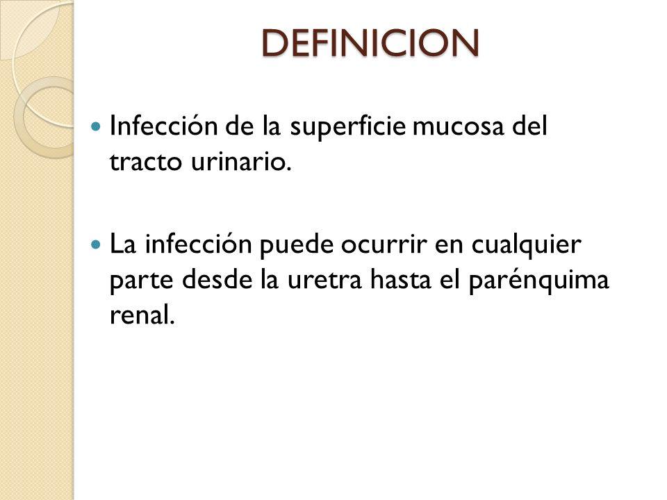 Recién nacidos y niños hasta 2 meses de edad que tienen pielonefritis por lo general no tienen síntomas localizados en el tracto urinario.