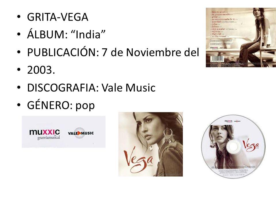 AUTOR: Mercedes Mígel Carpio VEGA CANTAUTORA ESPAÑOLA. Propia autora de la letra y banda sonora.