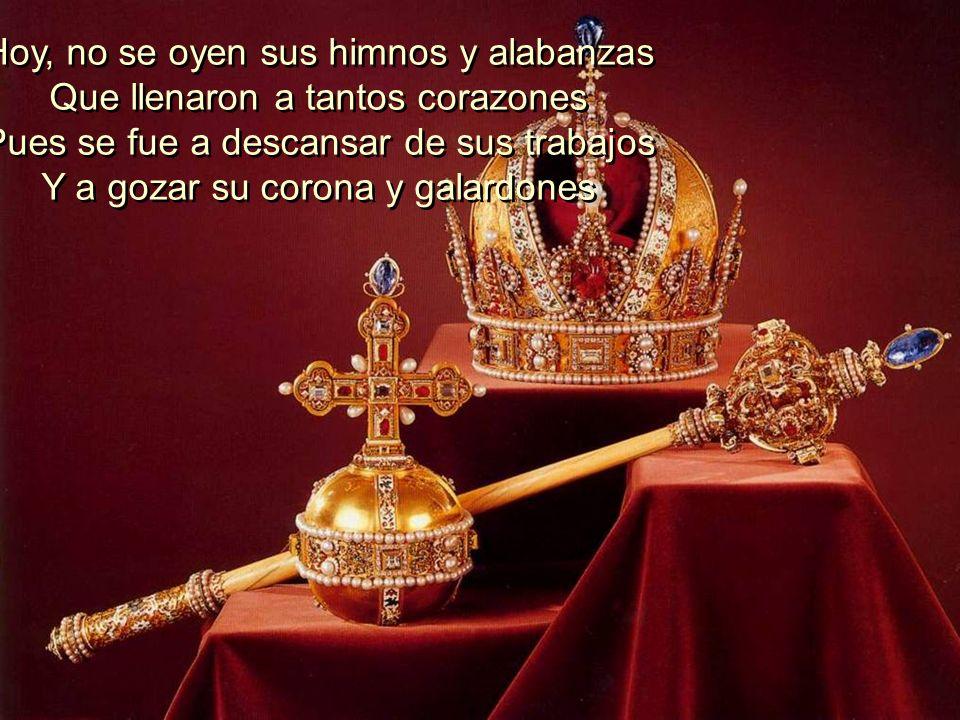 Desde niña entregó al Señor sus dones Y sus manos usó como instrumentos Consagrados a servir a su Maestro Y a ser de bendición, en muchos templos. Des