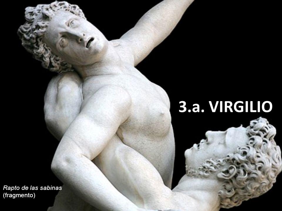 3.a. VIRGILIO Rapto de las sabinas (fragmento)