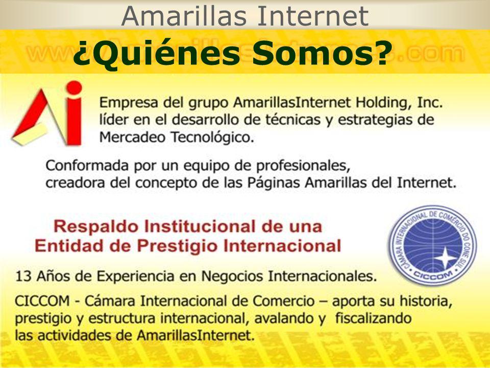 Amarillas Internet ¿Quiénes Somos