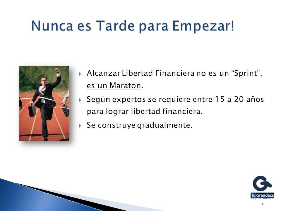 Alcanzar Libertad Financiera no es un Sprint, es un Maratón.