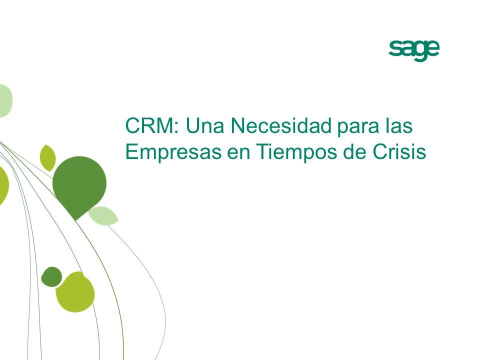 CRM: Una Necesidad para las Empresas en Tiempos de Crisis