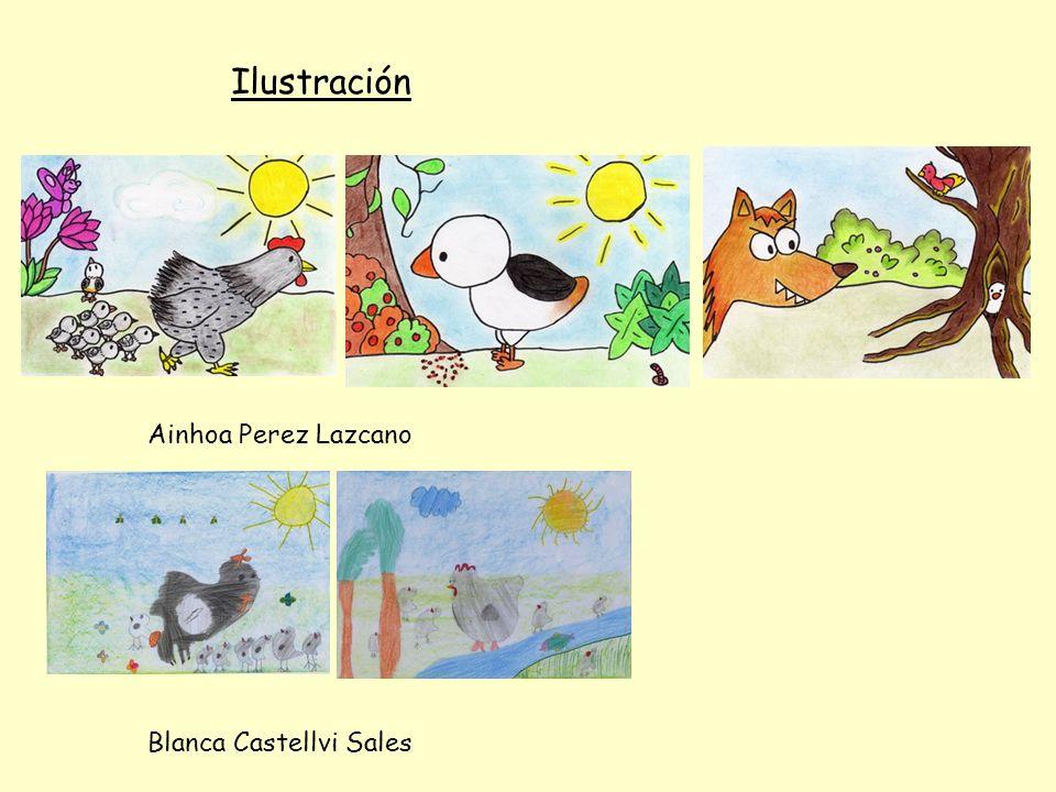 Ilustración Ainhoa Perez Lazcano Blanca Castellvi Sales