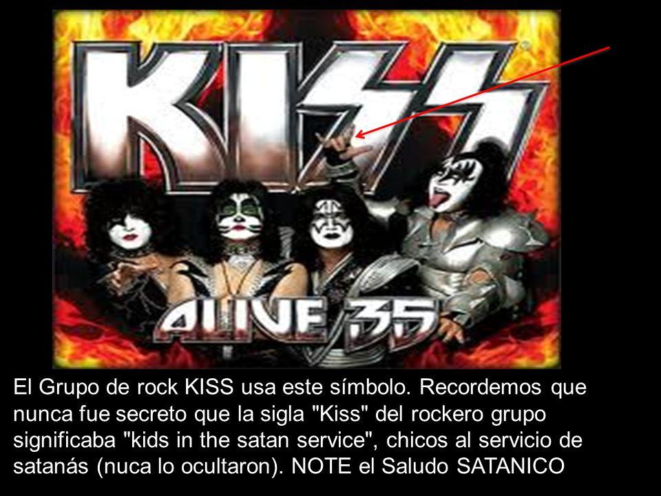 El Grupo de rock KISS usa este símbolo. Recordemos que nunca fue secreto que la sigla