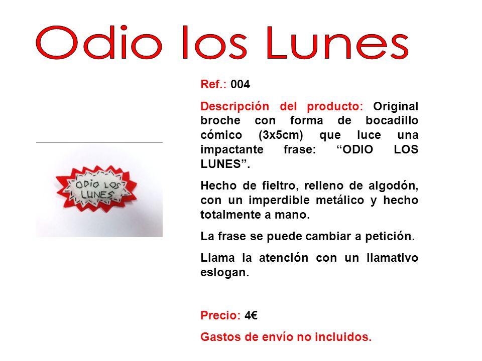 Ref.: 005 Descripción del producto: Especial Broche/Llavero de fieltro (5x 4 cm), relleno de algodón con un imperdible metálico detrás, en forma de dos corazones unidos.