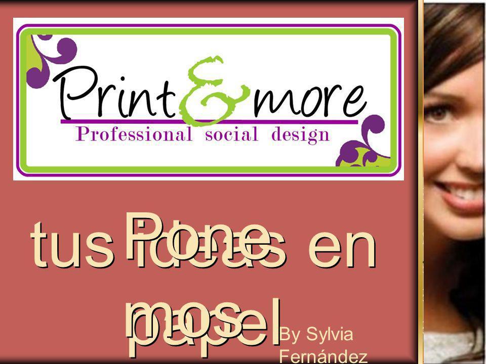 tus ideas en papel Pone mos By Sylvia Fernández