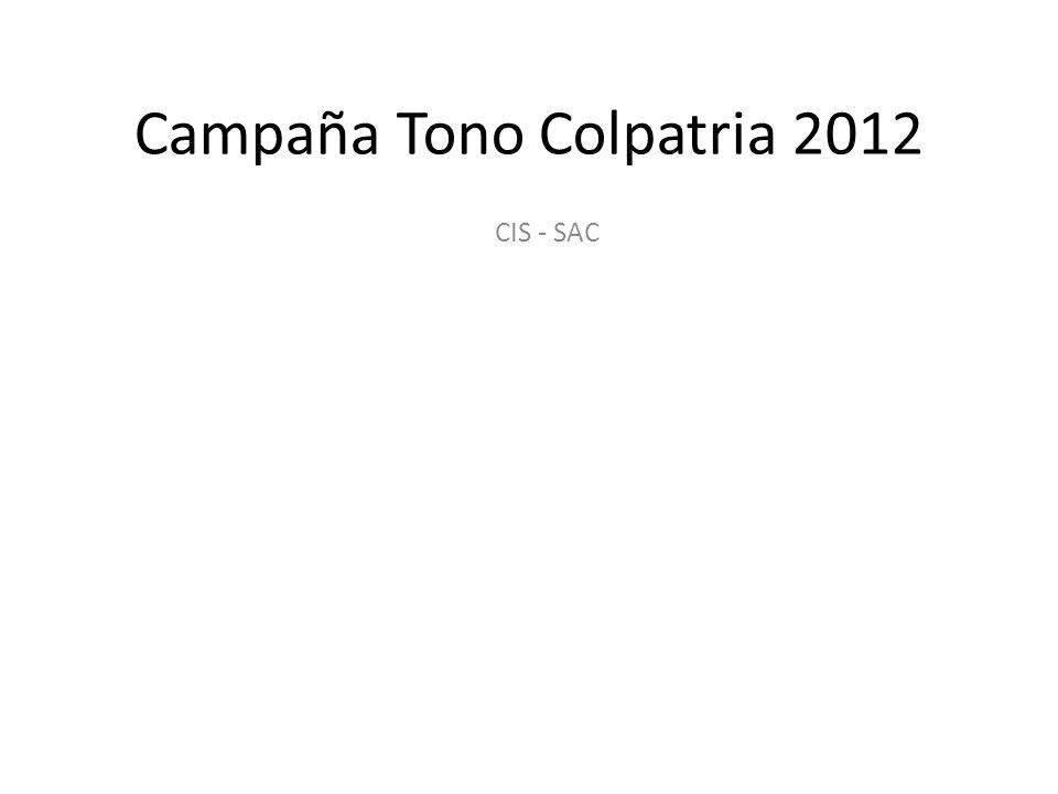 Campaña Tono Colpatria 2012 CIS - SAC
