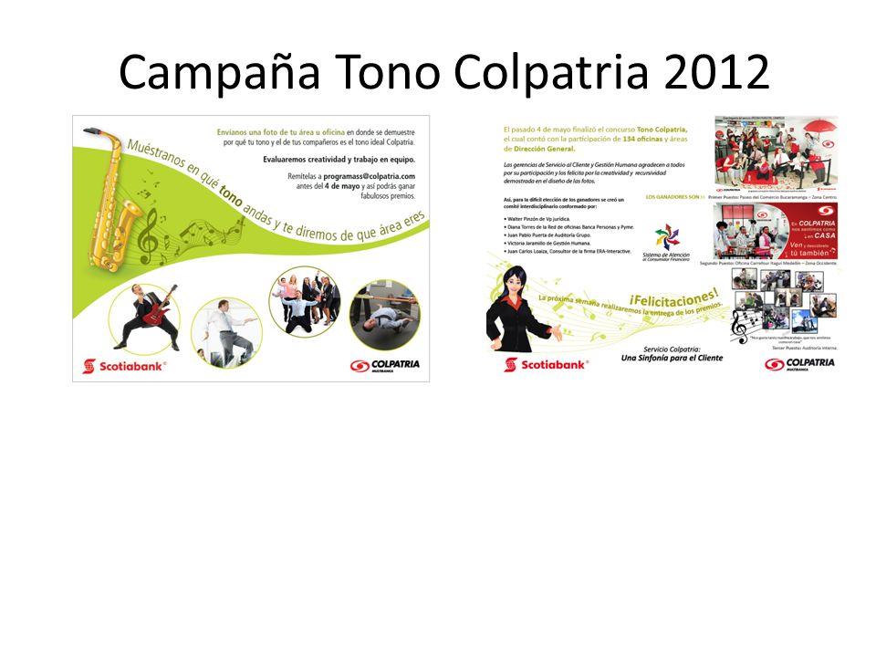 Campaña Tono Colpatria 2012 SKETCHES