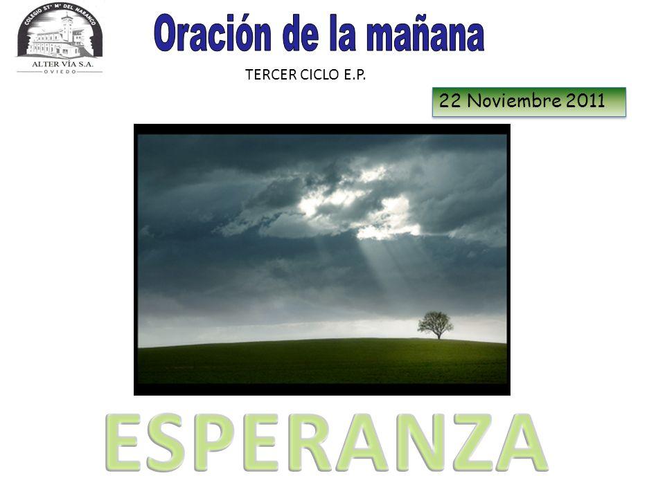 TERCER CICLO E.P. 22 Noviembre 2011