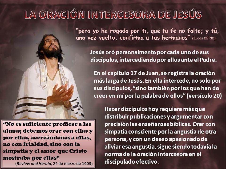 pero yo he rogado por ti, que tu fe no falte; y tú, una vez vuelto, confirma a tus hermanos (Lucas 22:32) Hacer discípulos hoy requiere más que distri