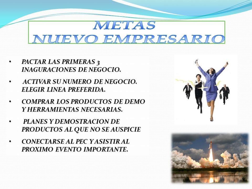 PACTAR LAS PRIMERAS 3 INAGURACIONES DE NEGOCIO. PACTAR LAS PRIMERAS 3 INAGURACIONES DE NEGOCIO. ACTIVAR SU NUMERO DE NEGOCIO. ELEGIR LINEA PREFERIDA.