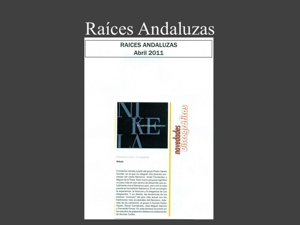 Raíces Andaluzas
