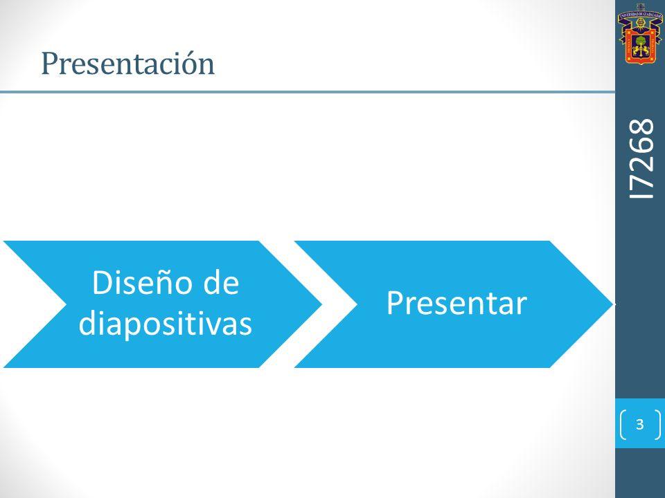 3 Presentación Diseño de diapositivas Presentar