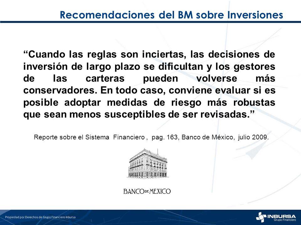 Recomendaciones del BM sobre Inversiones Cuando las reglas son inciertas, las decisiones de inversión de largo plazo se dificultan y los gestores de l