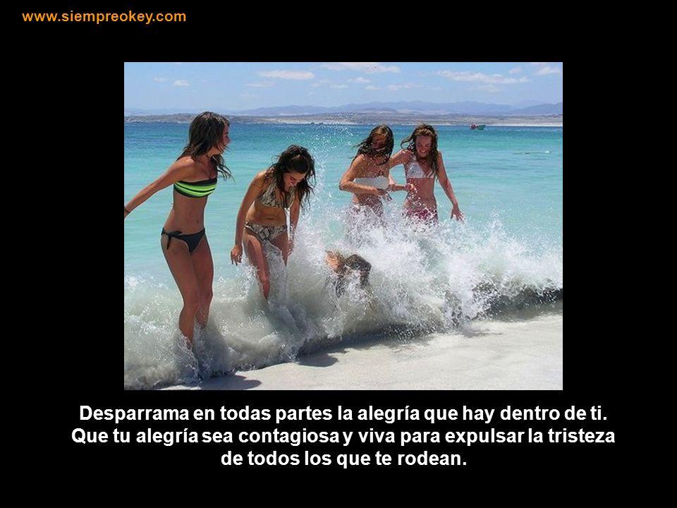 Aprende a mirarte con amor y respeto, piensa en ti como en algo precioso. www.siempreokey.com