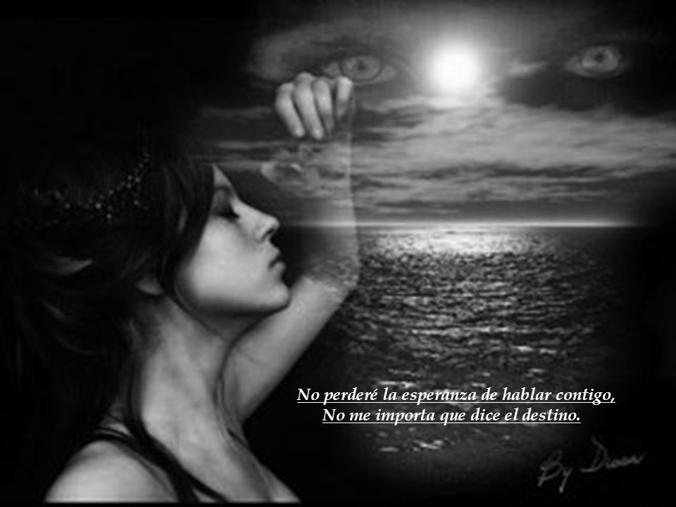 Y así me recuerdes y tengas presente Que mi corazón esta colgando en tus manos Cuidado, cuidado que mi corazón esta colgando en tus manos.