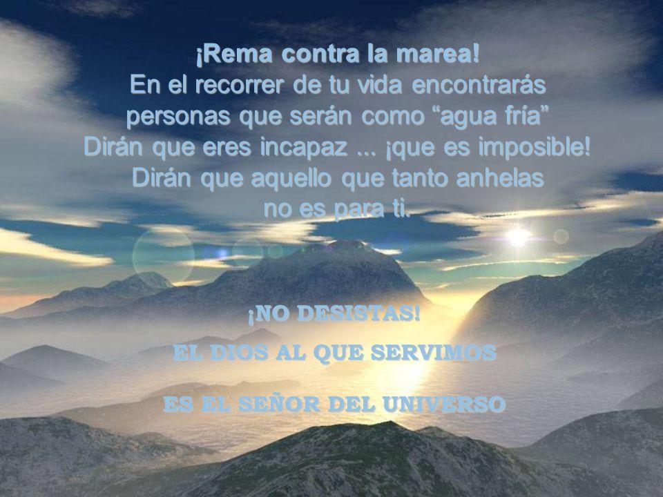 ¡TEN SUEÑOS! Es en nuestros sueños que Dios nos revela su infinito poder. ¡NUNCA DEJES DE SOÑAR! ¡TEN OBJETIVOS!
