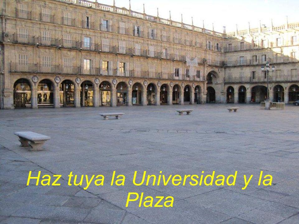 Salamanca. Roma la chica y También la grande,
