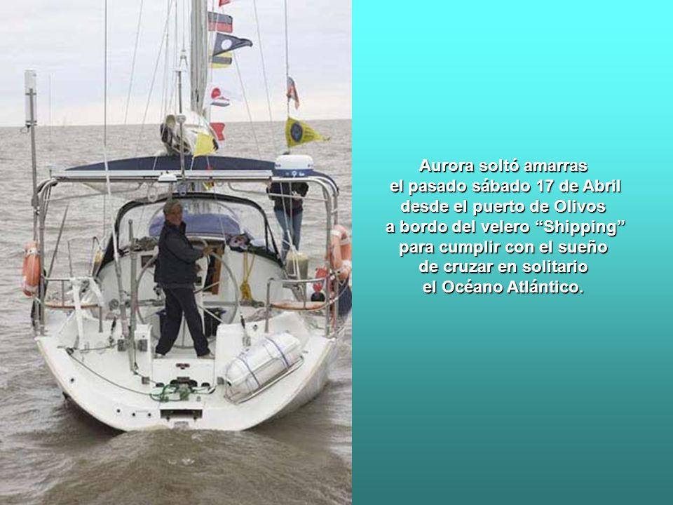 Aurora Canessa es argentina y navega hace casi 30 años. En 1992 con un pequeño contingente navegó hacia las Islas Malvinas y llegó a Puerto Argentino.