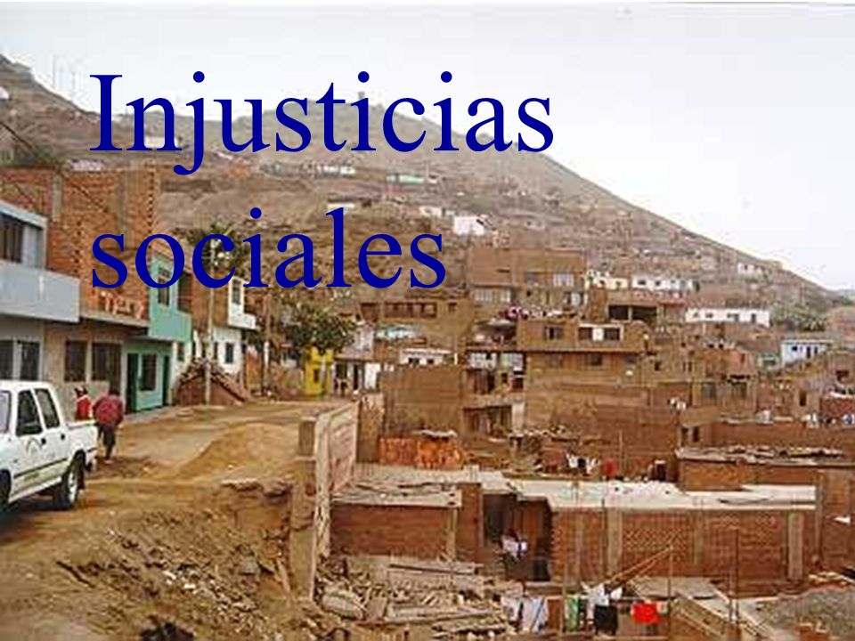 Injusticias sociales