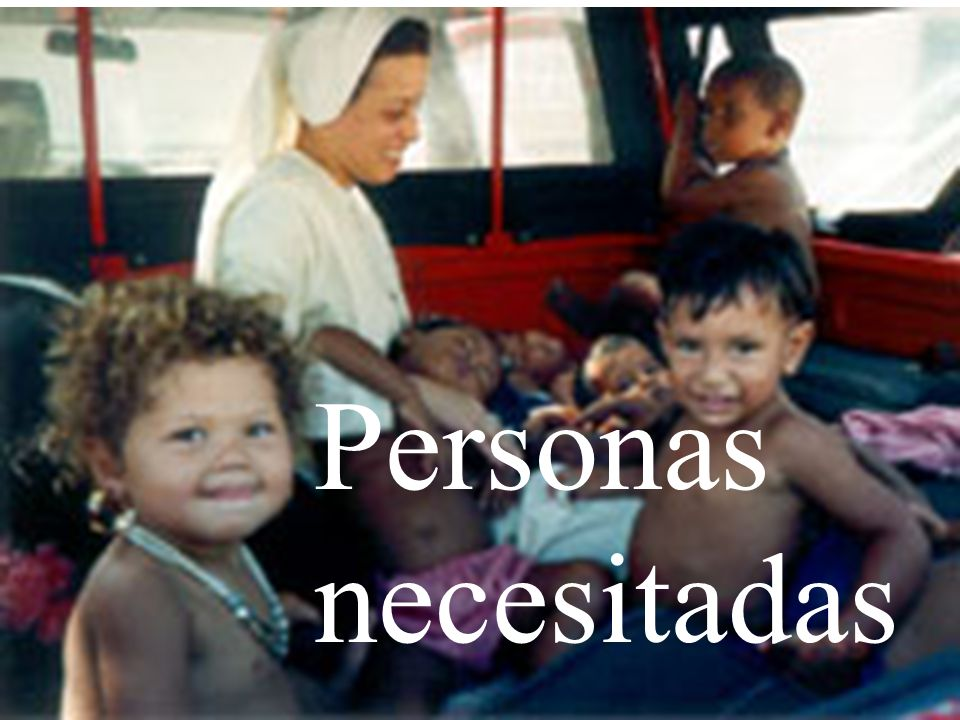 Personas necesitadas