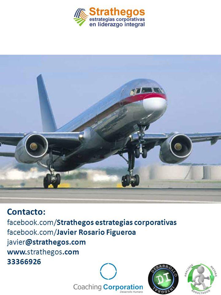 Contacto: facebook.com/Strathegos estrategias corporativas facebook.com/Javier Rosario Figueroa javier@strathegos.com www.strathegos.com 33366926
