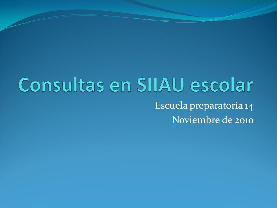 Escuela preparatoria 14 Noviembre de 2010