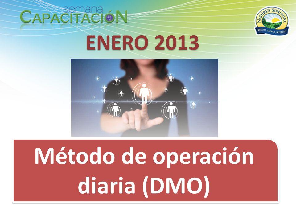 Método de operación diaria (DMO) ENERO 2013