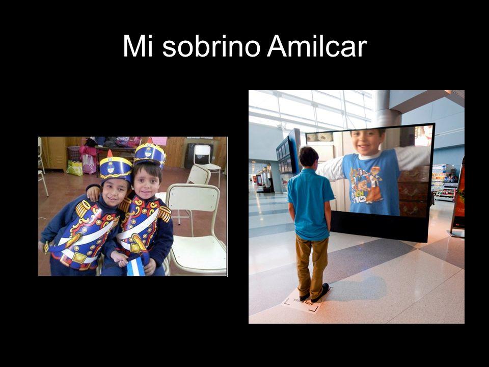 Mi sobrino Amilcar
