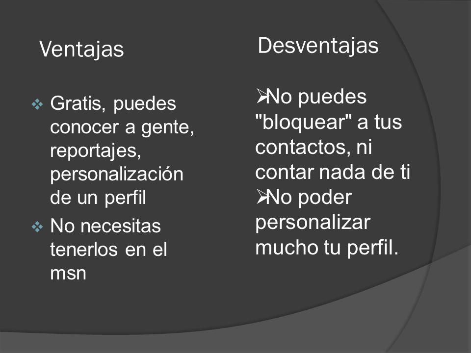 Número 8: La red social con sede en Buenos Aires se ha hecho famosa y popular con frases como agrégame a tus efes incluso hay gente que ha llegado a ser famosa usando el metroflog.