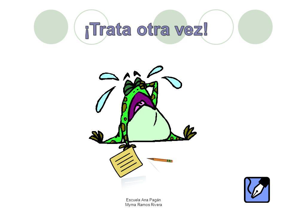 ¡Ahora escribe tu propia carta y no olvides las cinco partes!! Escuela Ana Pagán Myrna Ramos Rivera