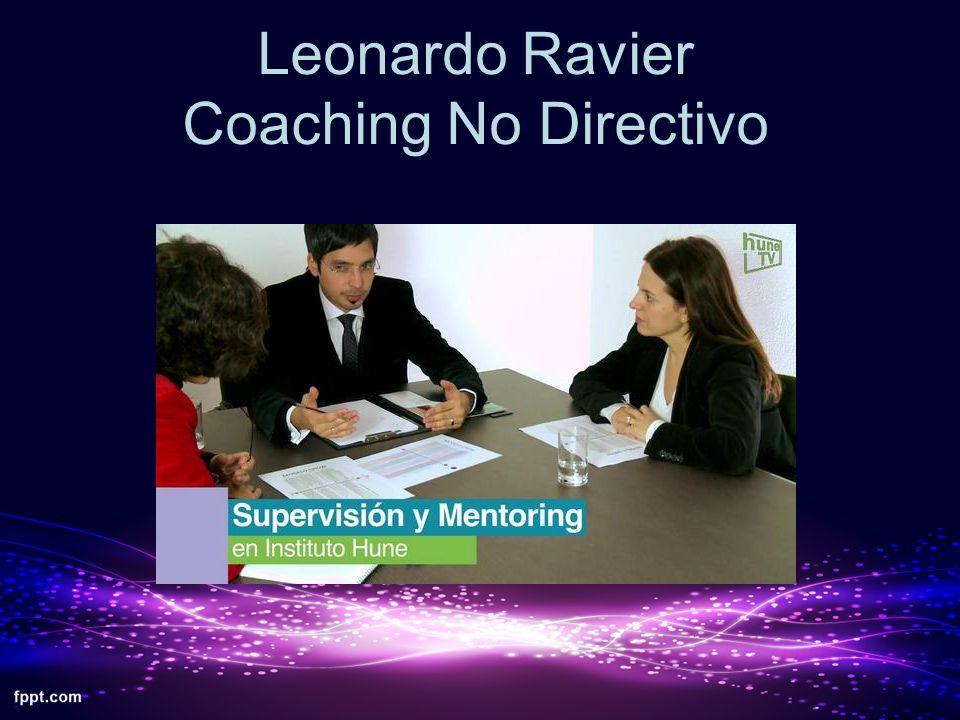 Leonardo Ravier Coaching No Directivo