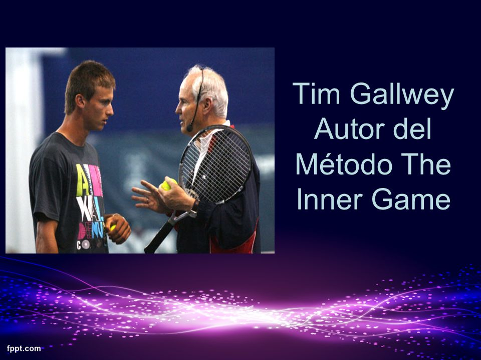 Tim Gallwey Autor del Método The Inner Game