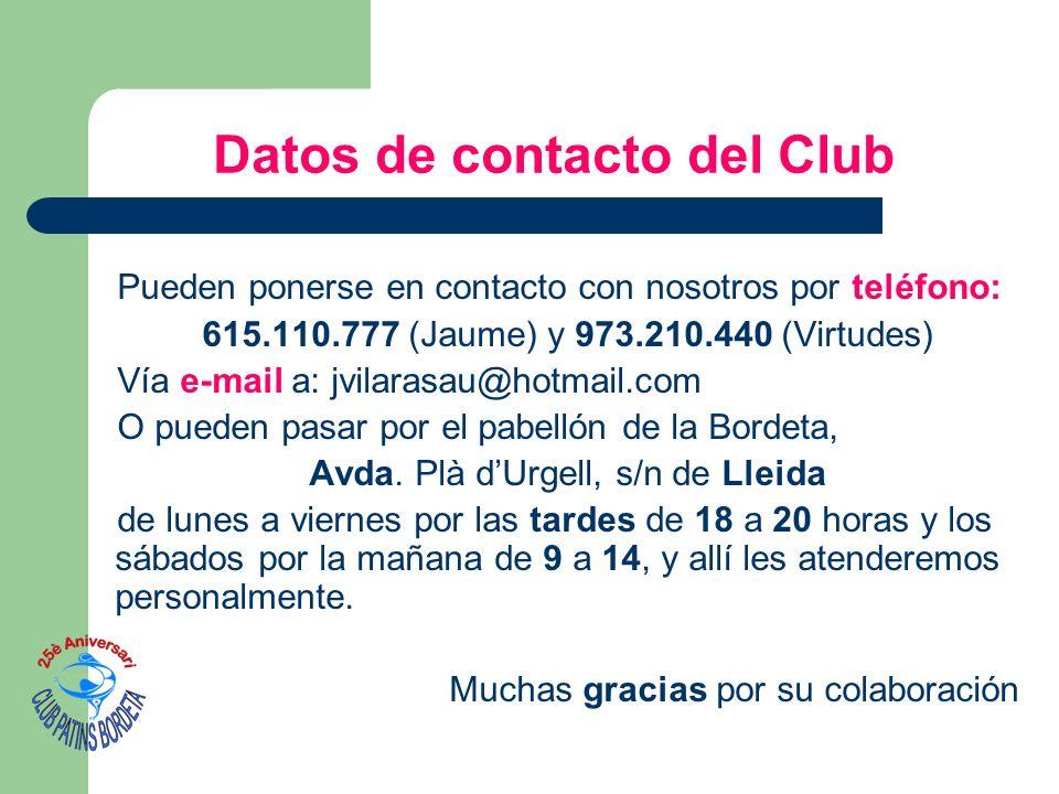 Pueden ponerse en contacto con nosotros por teléfono: 615.110.777 (Jaume) y 973.210.440 (Virtudes) Vía e-mail a: jvilarasau@hotmail.com O pueden pasar