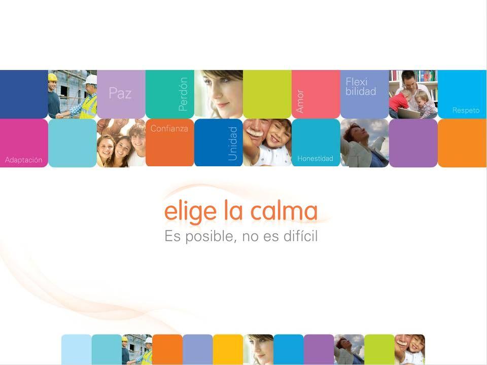 Elige la calma es una iniciativa dirigida a toda la comunidad y a las personas de todas las edades, que promueve el reconocimiento de nuestra fuerza interior como recurso natural para sobreponer los desafíos de la vida cotidiana.