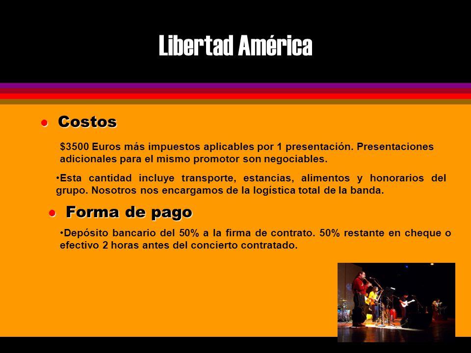 Libertad América l Contacto Libertad América Alfredo Arroyo V Av.