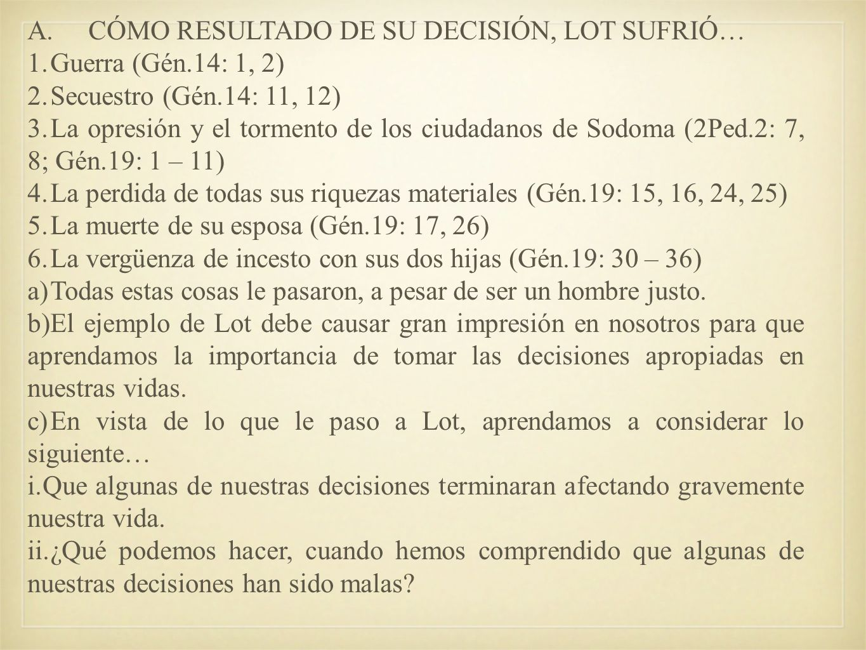 I.NUESTRAS DECISIONES.
