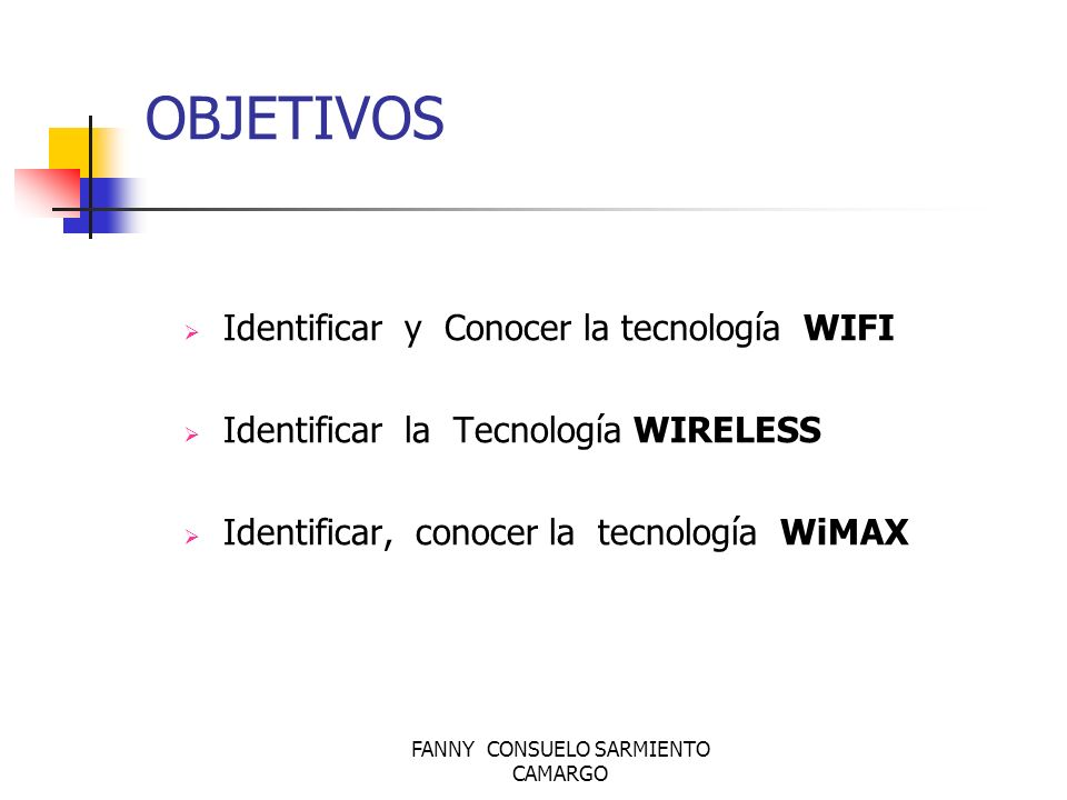 FANNY CONSUELO SARMIENTO CAMARGO El 802.11 es una red local inalámbrica que usa la transmisión por radio en la banda de 2.4 GHz, o infrarroja, con regímenes binarios de 1 a 2 Mbit/s.